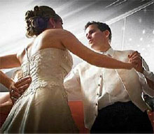 The Couples First Dance : Celebration DJs southeast Michigan